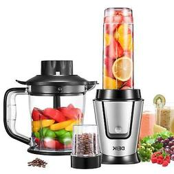 Blender, Deik 3-in-1 Smoothie Blender/Food Chopper/Electric
