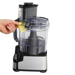 Brand New Hamilton Beach 12-Cup Stack and Snap Food Processo
