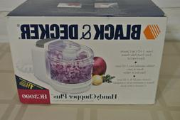 BRAND NEW! Mini Food Processor Black & Decker HandyChopper P