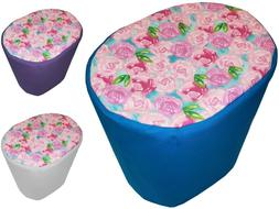 Canvas Pink Roses Food Processor Cover