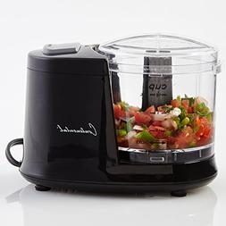 Continental CE22369 Mini Chopper, 1.5 Cup, Black