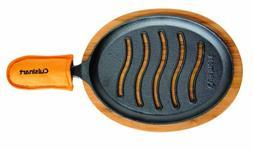 Cuisinart CFS-219 Pre-Seasoned Cast Iron Grilled Fajita Set