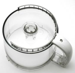 CH-4WWB - 4 Cup White Handled Work Bowl for Cuisinart Elite