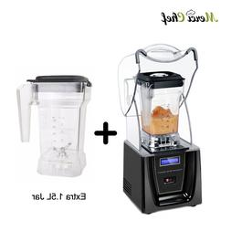 ITOP Commercial 1.5L Bpa Free Ice Blender Professional Power