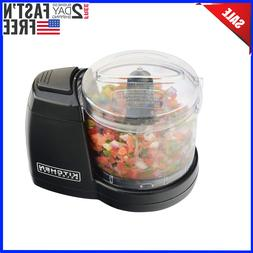 compact electric mini food processor kitchen chopper