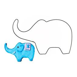 mojj Conch Cat Elephant Shapes Cookie Cutter Food Grade Stai
