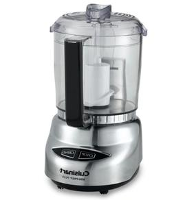 Cuisinart 4-Cup Mini Food Processor Recipe Book Premium Impo