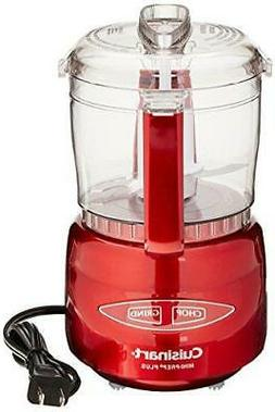 Cuisinart Mini-Prep Plus Metallic Red Processor