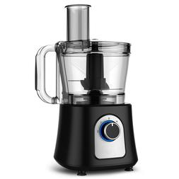 Alpine Cuisine BPA-Free Black Large 12-Cup Food Processor St