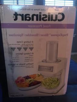 Cusinart Food Processor 5-cup Slicer Shredder Spiralizer Mod