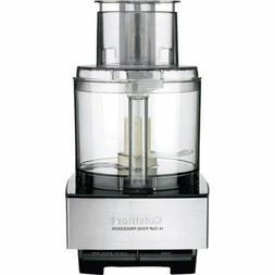 Custom 14 Cup 14 Cup Brushed Stainless Food Processor - Free
