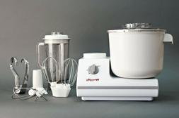 WonderMix Deluxe Stand Mixer by WonderMill   Includes Blende