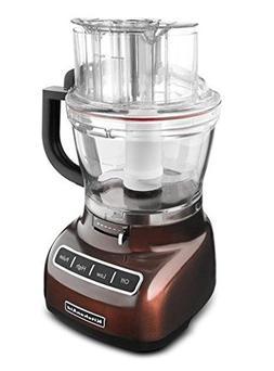 KitchenAid 13-cup Die-Cast Food Processor, KFP1344: espresso