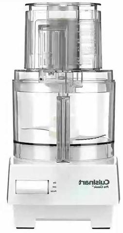 Cuisinart DLC-10SY Pro Classic 7-Cup Food Processor - White