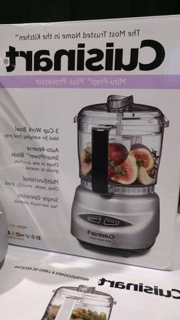 Cuisinart DLC-2 Mini Prep Plus Food Processor  3 cup work bo