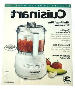 Cuisinart DLC-2A Mini-Prep Plus Food Processor 3 Cup Bowl, W