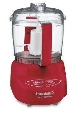 Cuisinart DLC-2ARDSLT Mini-Prep Plus Food Processor, Red
