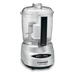 Cuisinart DLC-4CHB Mini-Prep Plus 4-Cup Food Processor, Brus