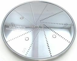 Cuisinart Food Processor Fine Grater Disc, 11 & 7-Cup, DLC-8
