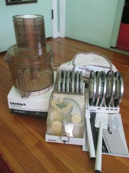 Vintage Cuisinart DLC-X Plus 20 Cup Commercial Food Processo