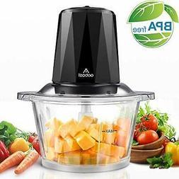 Electric Food Chopper, Aobosi Food Processor with 1.8L BPA-F