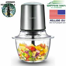 MOSAIC Electric Food Processor, Food Chopper, Meat Grinder,