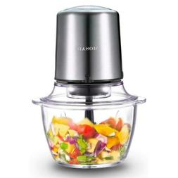Electric Food Processor, MOSAIC Stainless Steel Meat Grinder