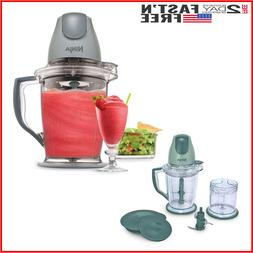 Electric Frozen Blender Food Processor Prep Chopper Smoothie