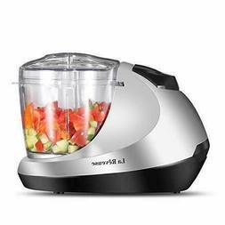 Electric Mini Food Chopper, Vegetable Fruit Cutter, Meat Gri