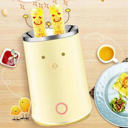 Electric Omelette Dual Egg roll Maker Cooker For Breakfast A