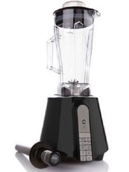 Electric Power Blender 1.87 HP 1400 Watt Black with Six auto