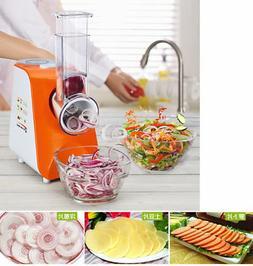 Electric Salad Master Food Processor Vegetable Cutter Spiral
