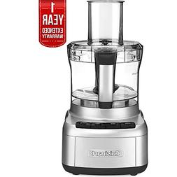Cuisinart Elemental 8-Cup Food Processor, Silver  with 1 Yea