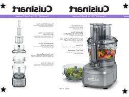 Cuisinart Elemental Food Processor FP-2GM