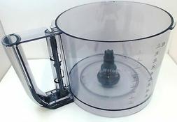Cuisinart 11-Cup Elemental Food Processor Silver Work Bowl,