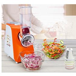 ELEOPTION Multifunctional Saladmaster Food Processor Vegetab