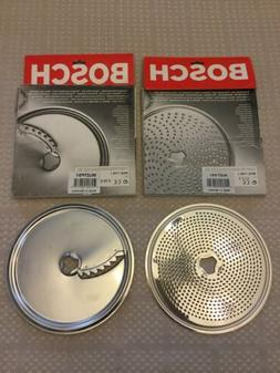 BOSCH Fine Grater Disk MUZ7KS1 And French Fries Disk MUZ7PS1