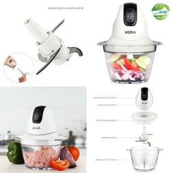Aicok Food Chopper Small Food Processor 3 Cup Mini Onion Veg