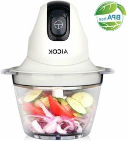 Aicok Food Chopper, Small Food Processor, 3 Cup Electric Min