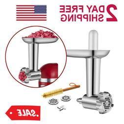 HOZODO Metal Food Meat Grinder Attachment Compatible with Ki