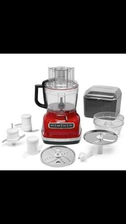 KitchenAid Food Processor, 11 Cup Exact Slice, Empire Red.