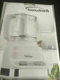 Brentwood Food Processor, 3-Cup Capacity, 2 Speed Model FP-5