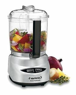 Food Processor Cuisinart 4-Cup Brushed Stainless Steel Mini-