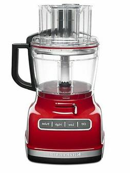 KitchenAid Food Processor - 11 Cup ExactSlice - Empire Red