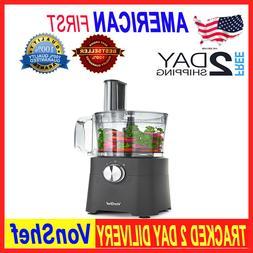 Food Processor, 8 Cup, Blender, Chopper, Multi Mixer Combo w