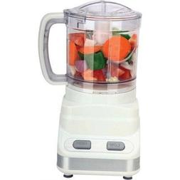 3 Cup Food Processor - White