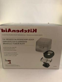 KitchenAid Food Processor Accessory Kit for Stand Mixer NIB