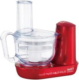 T-fal Food Processor Mini Pro Ruby Red Plus Mb601g73 Mb601g7