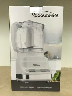 Brentwood Food Processor, Model FP-546, 2-Speed, 3-Cup Capac