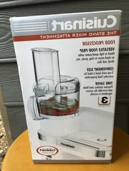 Cuisinart Food Processor Stand Mixer Attchment New in box